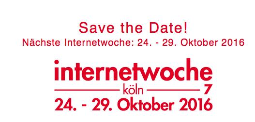 Internet Woche Köln 2016